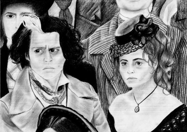 Helena Bonham Carter, Johnny Depp by rolie